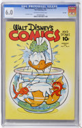 Golden Age (1938-1955):Cartoon Character, Walt Disney's Comics and Stories #23 File Copy (Dell, 1942) CGC FN6.0 Off-white to white pages....