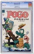 Golden Age (1938-1955):Funny Animal, Pogo Possum #14 (Dell, 1953) CGC FN+ 6.5 Cream to off-whitepages....