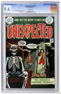 Bronze Age (1970-1979):Horror, Unexpected #154 (DC, 1974) CGC NM+ 9.6 white pages....