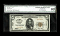 National Bank Notes:Colorado, Greeley, CO - $5 1929 Ty. 1 The Greeley Union NB Ch. # 4437. This nicely centered $5 is well embossed with wide margins....