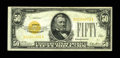 Small Size:Gold Certificates, Fr. 2404 $50 1928 Gold Certificate. Very Fine+.. A nice circulated Small Size $50 Gold. A couple of tiny bank stamp lines ba...