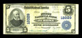 National Bank Notes:Pennsylvania, Jerome, PA - $5 1902 Plain Back Fr. 608 The First NB Ch. # 12029....