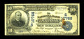 Pine Bluff, AR - $10 1902 Plain Back Fr. 632 The NB of Arkansas at Pine Bluff Ch. # (S)10768 Other than one bank which...