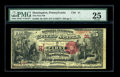 National Bank Notes:Pennsylvania, Huntingdon, PA - $5 1875 Fr. 405 The First NB Ch. # 31. A niceearly example from this low charter institution. It has b...
