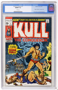 Kull the Conqueror #1 (Marvel, 1971) CGC NM/MT 9.8 White pages
