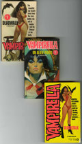 Books:Miscellaneous, Vampirella Paperback Group (Various, 1975-76) Condition: Average FN. This group contains paperback books of Vampirella #...