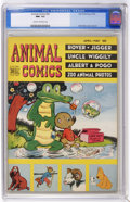 Golden Age (1938-1955):Funny Animal, Animal Comics #26 (Dell, 1947) CGC NM- 9.2 Cream to off-whitepages. Pogo and Albert are included, with Walt Kelly cover and...