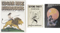 Books:First Editions, Edgar Rice Burroughs. Three First Editions,... (Total: 3 Items)