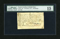 Colonial Notes:North Carolina, North Carolina December, 1771 30s PMG Choice Fine 15....