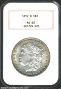 Morgan Dollars: , 1892-O MS63 NGC. The current Coin Dealer Newsletter (...