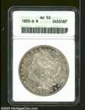 Morgan Dollars: , 1893-O AU50 ANACS. ...