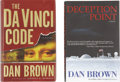 Books:First Editions, Dan Brown. Two First Editions,... (Total: 2 Items)