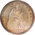 Seated Dollars, 1855 $1 MS64 NGC. CAC....