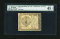 Colonial Notes:Continental Congress Issues, Continental Currency September 26, 1778 $40 PMG Choice ExtremelyFine 45 EPQ....
