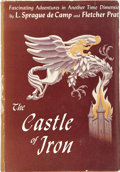Books:First Editions, L. Sprague de Camp and Fletcher Pratt. The Castle of Iron.New York: Gnome Press, 1950.. ...