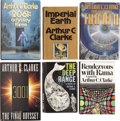 Books:First Editions, Arthur C. Clarke. Six First Editions,... (Total: 6 Items)