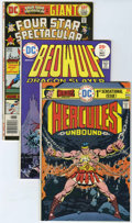 Bronze Age (1970-1979):Miscellaneous, DC Bronze Age Group (DC, 1975-77) .... (Total: 20 Items)