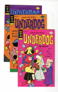 Bronze Age (1970-1979):Cartoon Character, Underdog #5-23 File Copies Group (Gold Key, 1976-79) Condition: Average VF.... (Total: 19 Comic Books)