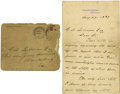 "Autographs:U.S. Presidents, Grover Cleveland Autograph Letter Signed ""Grover Cleveland"" as President,..."