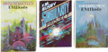 Books:First Editions, F. M. Busby. Three First Edition Review Copies,... (Total: 3 Items)