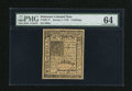 Colonial Notes:Delaware, Delaware January 1, 1776 5s PMG Choice Uncirculated 64....