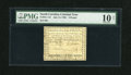 Colonial Notes:North Carolina, North Carolina July 14, 1760 £3 PMG Very Good 10 Net....