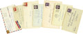 Autographs:Authors, [D.H. Lawrence] Frieda Lawrence Archive of Letters... (Total: 7Items)