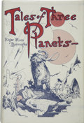 Books:First Editions, Edgar Rice Burroughs. Tales of Three Planets....