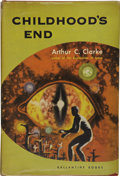 Books:First Editions, Arthur C. Clarke. Childhood's End....