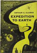 Books:First Editions, Arthur C. Clarke. Expedition to Earth....
