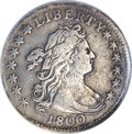 Early Dimes, 1800 10C --Bent, Improperly Cleaned--NCS. VF Details....