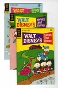 Bronze Age (1970-1979):Cartoon Character, Walt Disney's Comics and Stories File Copy Group (Gold Key, 1972)Condition: Average VF/NM.... (Total: 4 Comic Books)