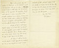 "Autographs:Statesmen, Charles Francis Adams Autograph Letter Signed ""C.F. Adams"",3 pages conjoined, 5"" x 8"", Boston, February 8, 1873,..."