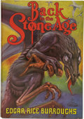 Books:First Editions, Edgar Rice Burroughs. Back to the Stone Age....