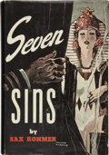 Books:First Editions, Sax Rohmer. Seven Sins....
