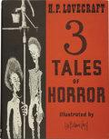 Books:First Editions, H. P. Lovecraft. 3 Tales of Horror....