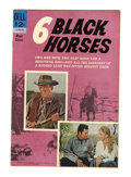 Silver Age (1956-1969):Western, Movie Classics: Six Black Horses - File Copy (Dell, 1963) Condition: Average VF/NM....