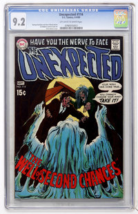 Unexpected #114 (DC, 1969) CGC NM- 9.2 Off-white to white pages