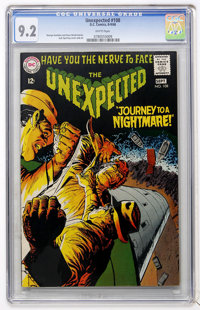 Unexpected #108 (DC, 1968) CGC NM- 9.2 White pages