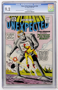 Tales of the Unexpected #68 (DC, 1962) CGC NM- 9.2 Off-white to white pages