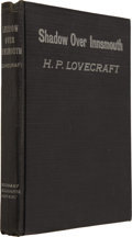 Books:First Editions, H.P. Lovecraft. The Shadow Over Innsmouth and Errata SheetWith Lovecraft's Handwritten Notes. Everett, Pennsylv...