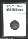 Early Dimes: , 1798/97 10C 16 Stars on Reverse--Damaged, Plugged--ANACS. ...