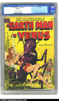 Golden Age (1938-1955):Science Fiction, An Earth Man on Venus nn (Avon, 1951) CGC VF- 7.5 Cream tooff-white pages. Fawcette created another wondrous cover forthis...