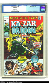 Astonishing Tales #5 (Marvel, 1971) CGC NM 9.4 Off-white pages. Barry Smith and George Tuska art. Overstreet 2003 NM 9.4...