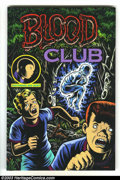 Modern Age (1980-Present):Alternative/Underground, Blood Club Hardback Signed (Kitchen Sink Press, 1992) Condition:VF/NM. Signed by Charles Burns. #677 of only 1,000 copies p...