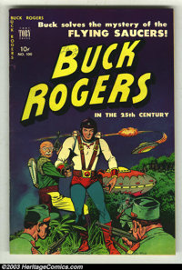 Buck Rogers 100 (#1) River City pedigree (Toby Publishing, 1951) Condition: VF. Very glossy, and white pages on this ped...