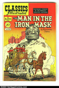 Golden Age (1938-1955):Classics Illustrated, Classics Illustrated #54 The Man in the Iron Mask HRN 55 (Original)(Gilberton, 1948) Condition: FN/VF. Another great Kiefer...