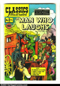 Golden Age (1938-1955):Classics Illustrated, Classics Illustrated #71 HRN 71 (Original) The Man Who Laughs(Gilberton, 1950) Condition: VF-. Overstreet 2003 VF 8.0 value...