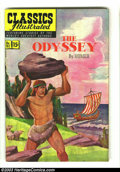 Golden Age (1938-1955):Classics Illustrated, Classics Illustrated #81 The Odyssey HRN 82 (Original) (Gilberton,1951) Condition: VF/NM. First painted cover, and first 15...
