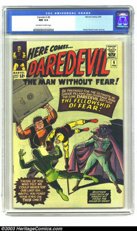Daredevil #6 (Marvel, 1965) CGC NM 9.4 Off-white to white pages. Wally Wood cover and story art. There may be better cop...